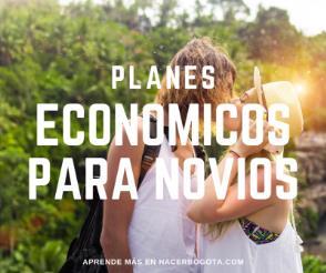 Planes para pareja económicos en Bogotá; siempre puedes dar un lindo detalle