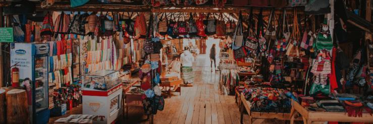 Mercado de las pulgas, shopping Bogotá